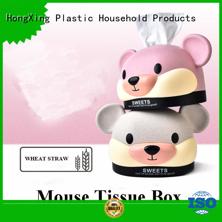 different printing plastic tissue cover from China for office
