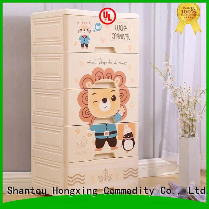 practical plastic storage drawers for clothes plastic long-term-use for storage books