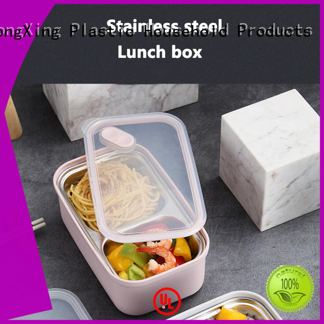 HongXing boxes eco friendly lunch box great practicality for snack