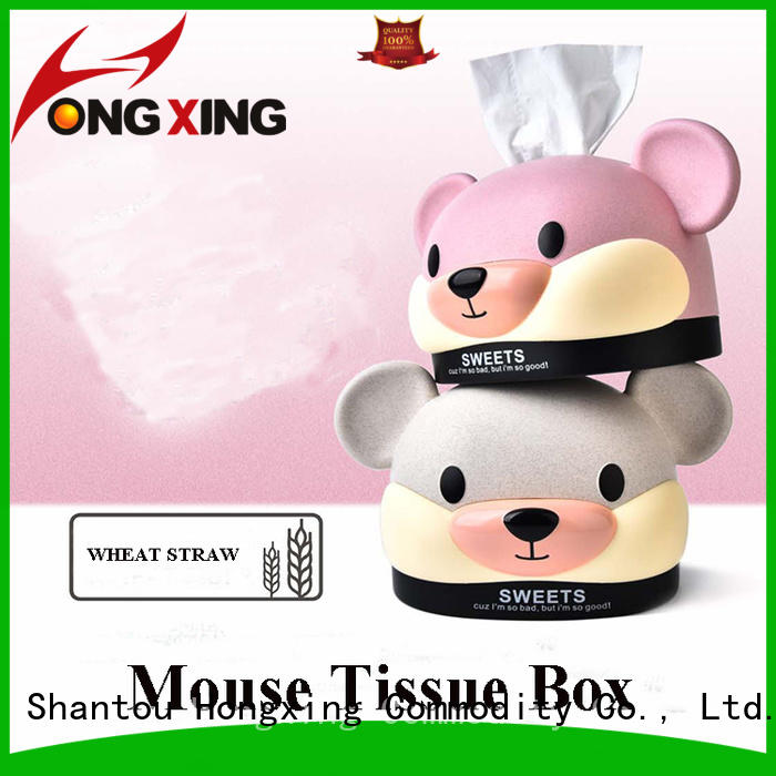 HongXing tissue designer tissue box from China for room
