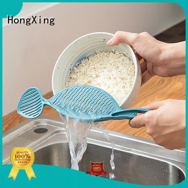 HongXing useful plastic colander to store dishes