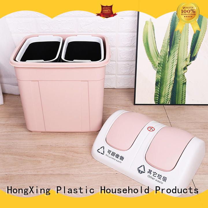 stable performance plastic waste bins plastic free design for room