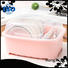 non-porous plastic dish drainer lid with many colors to store dishes
