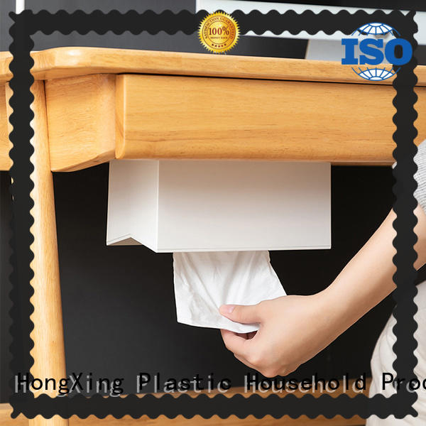 HongXing cute plastic tissue box widely-use for car