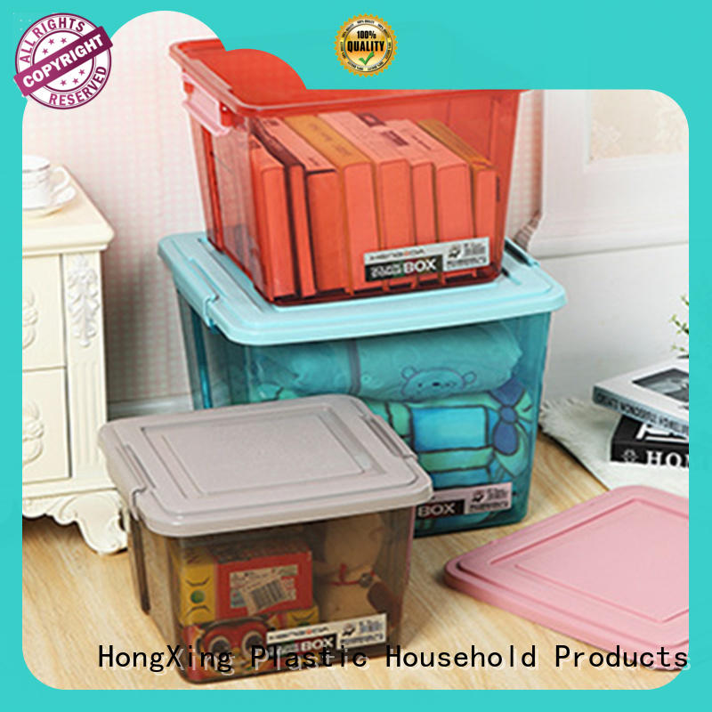 HongXing fashionable plastic storage container stable performance for sushi
