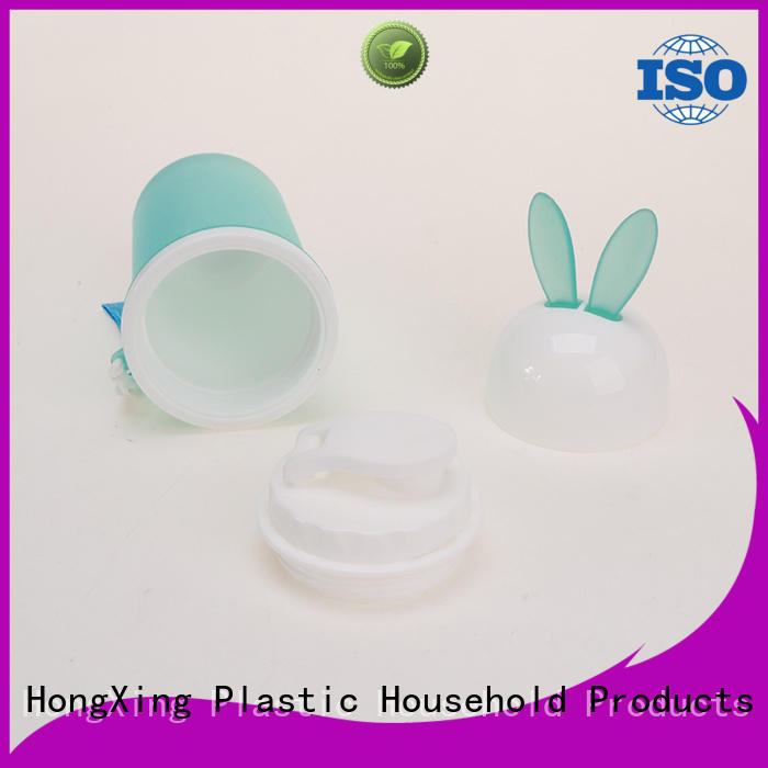 HongXing printing plastic sports water bottles long-term-use for students