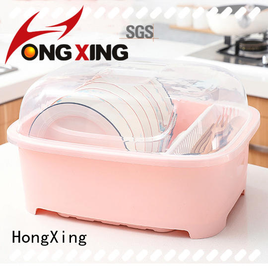 HongXing rackplastic plastic dish drying rack factory for vegetables