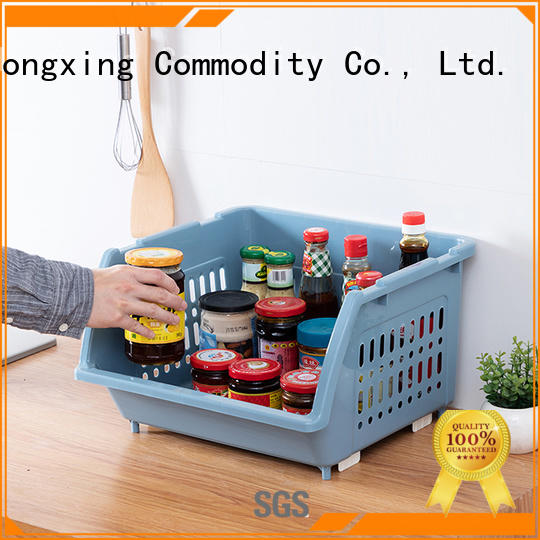 HongXing size plastic storage basket for storage small containers for storage clothes