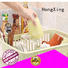 HongXing kitchen plastic dish drying rack factory to store dishes