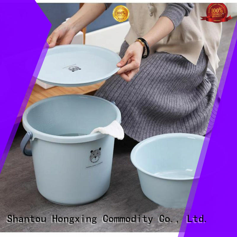 HongXing Affordable plastic basket with lid supplier for living room