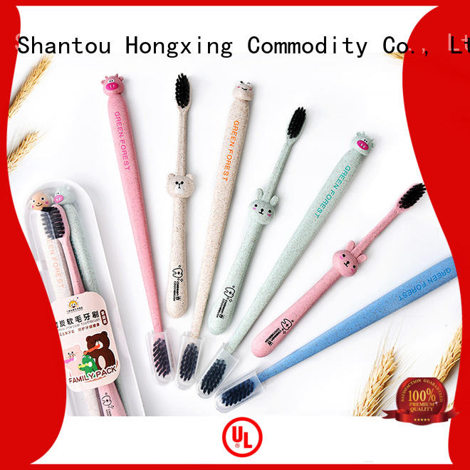 HongXing affordable bamboo toothbrush bristles certifications for bedroom