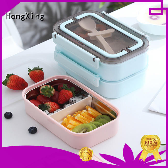 HongXing great practicality microwave lunch box reliable quality for snack