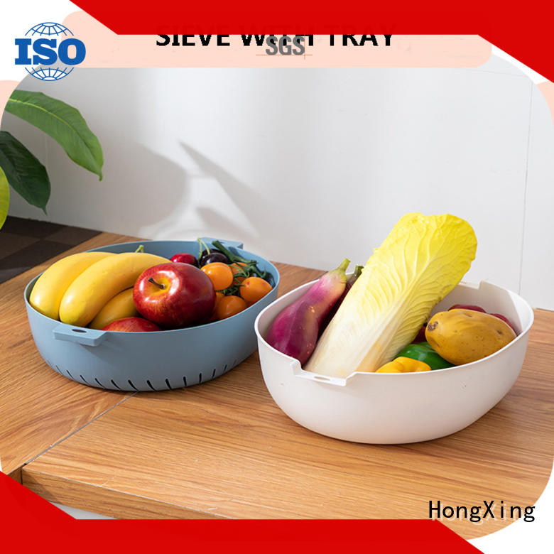 HongXing strainerplastic plastic colander directly sale to store eggs