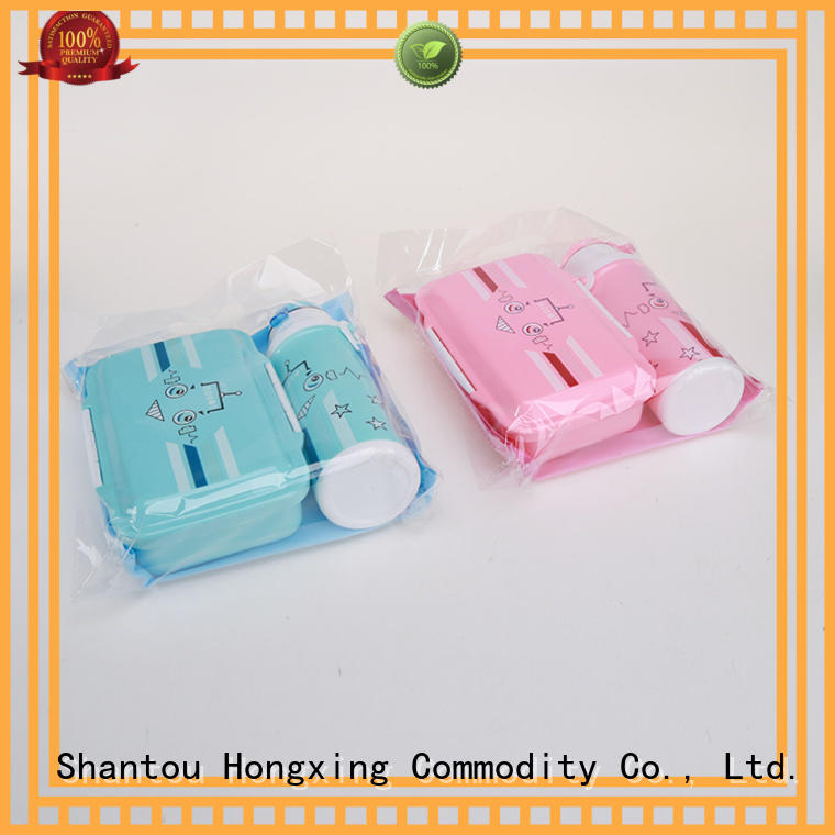 HongXing fashionable plastic lunch containers great practicality for candy