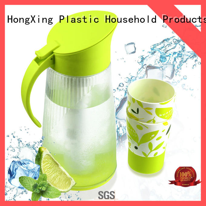 HongXing pot plastic jugs for sale stable performance for kitchen
