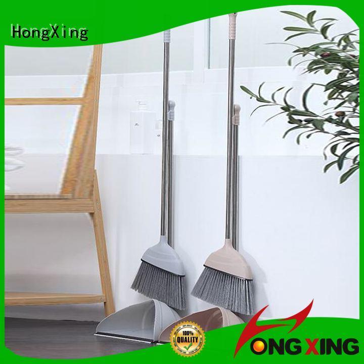 HongXing steel best dustpan and brush set supplier for home