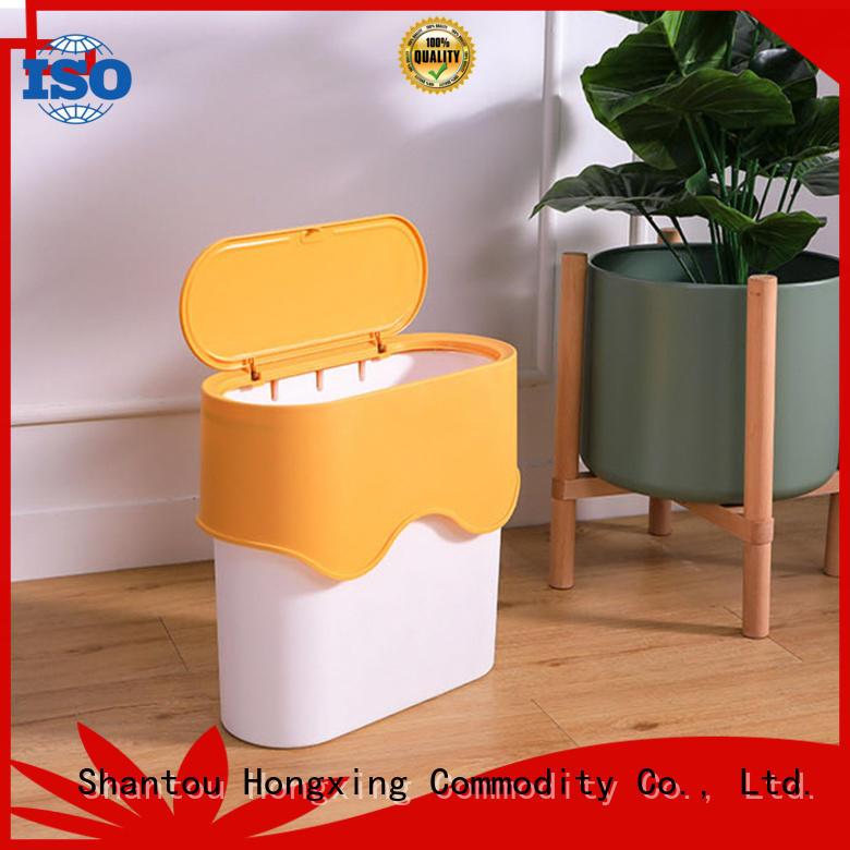 HongXing plastic waste bins directly sale for bedroom