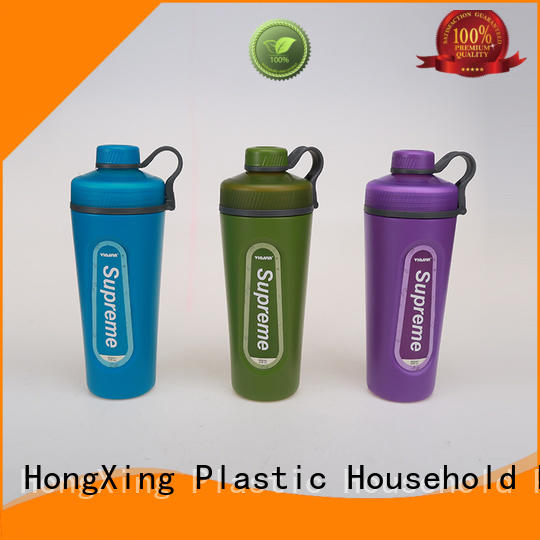 HongXing embroidered custom plastic water bottles widely-use for students