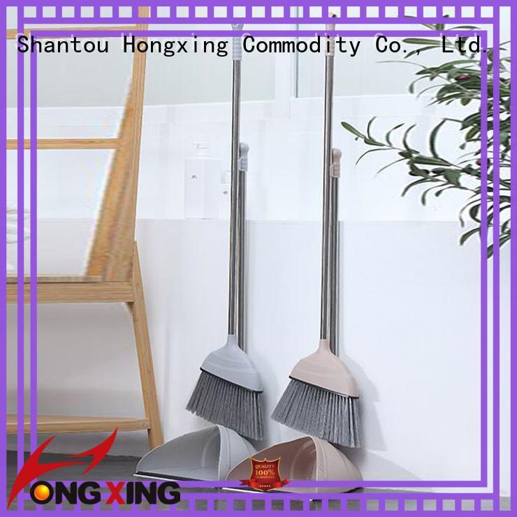 HongXing dustpan best dustpan and brush set supplier for kitchen