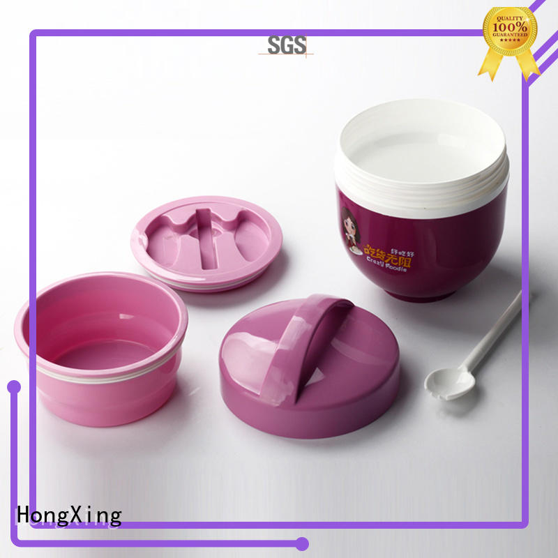 HongXing stable performance plastic tiffin box stable performance for snack