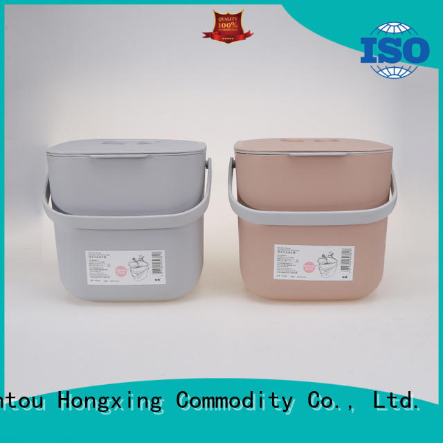 plastic bucket with lid waste supplier for home