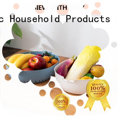 HongXing plastic plastic kitchen colander from China to store fruits
