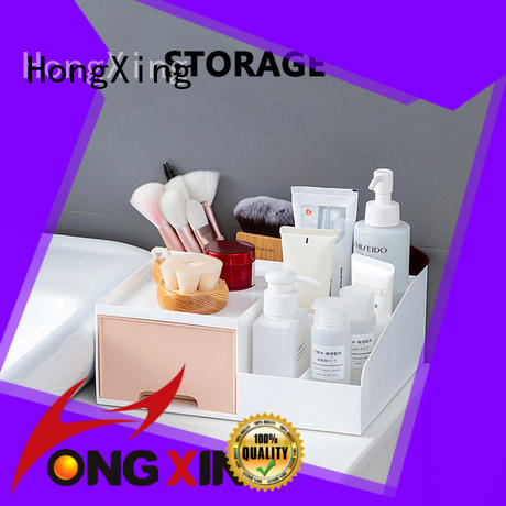 HongXing rectangle plastic storage boxes with wheels stable performance for bread