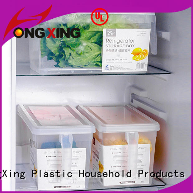 HongXing reliable quality plastic food storage boxes in different colors for sandwich