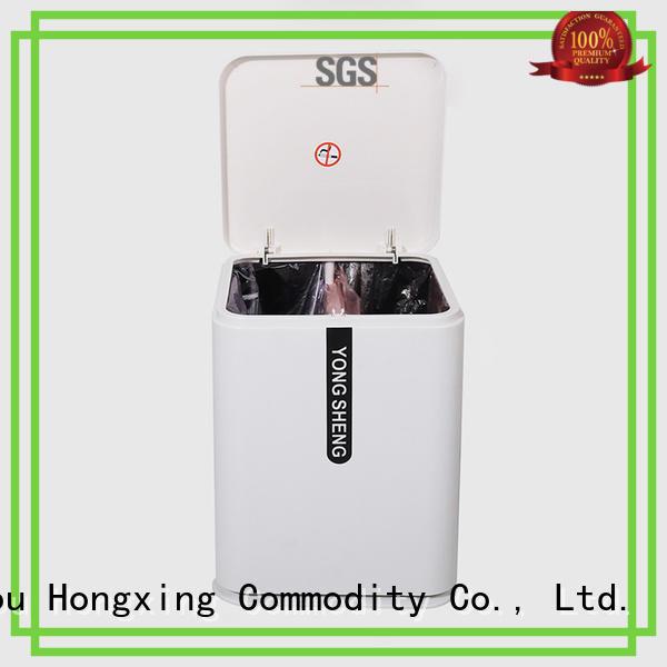 HongXing rattan plastic garbage bin bulk production for room