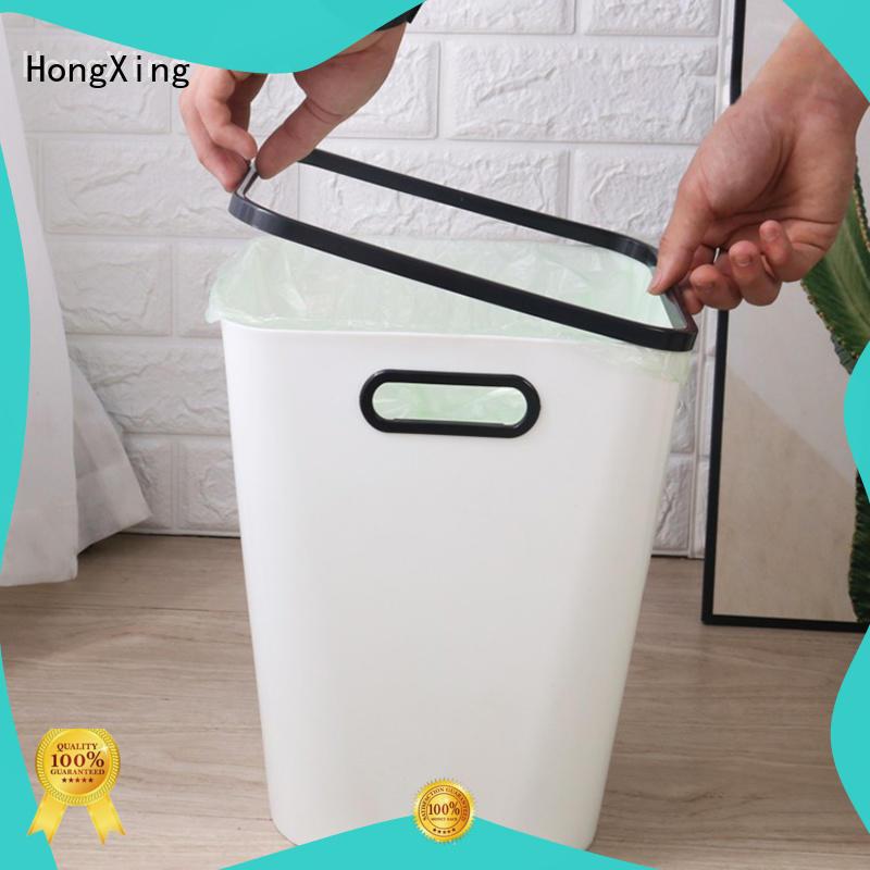HongXing trash plastic kitchen trash cans directly sale for bedroom