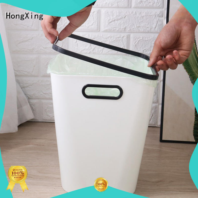 HongXing trash plastic kitchen trash cans directly sale for bedroom