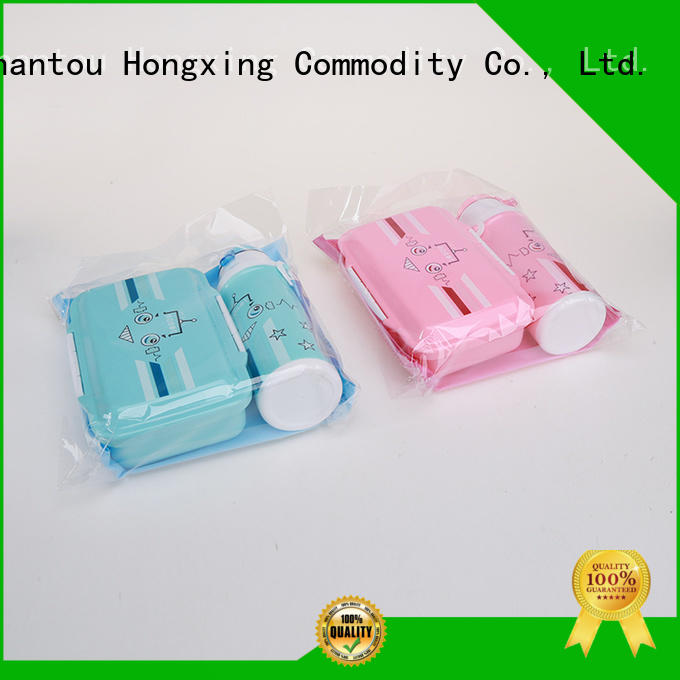 HongXing great practicality school lunch box reliable quality for snack