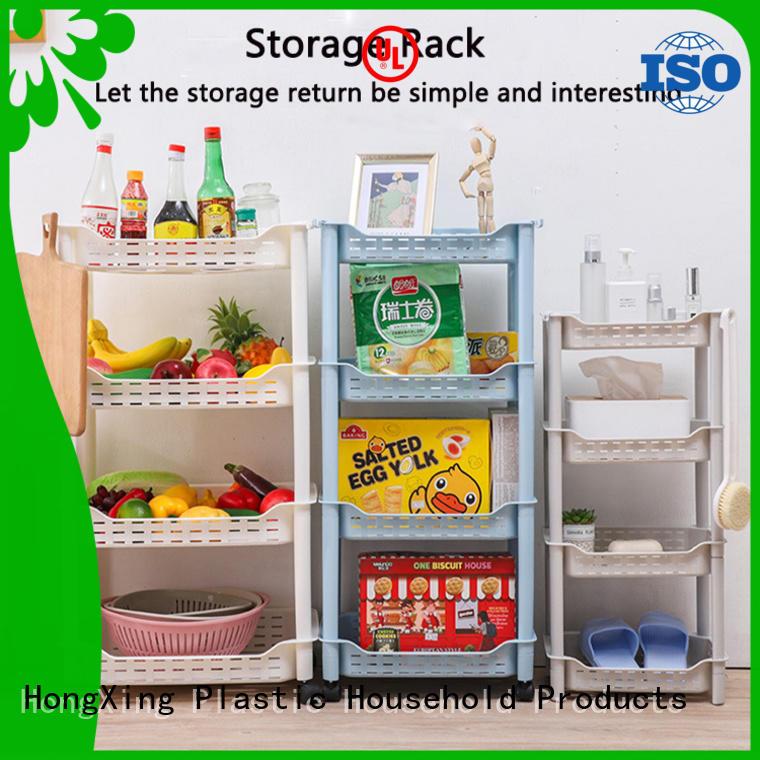 HongXing favorable price kitchen organiser rack bulk production for student