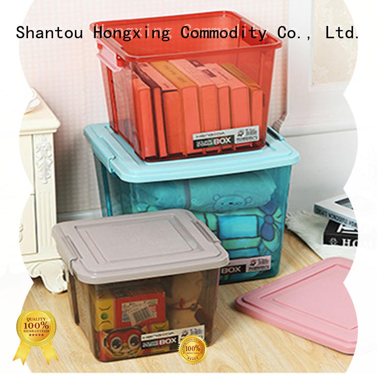 fashionable plastic storage boxes with handle box good design for salad