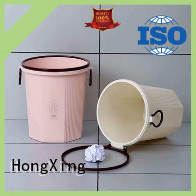 HongXing stable performance plastic trash cans