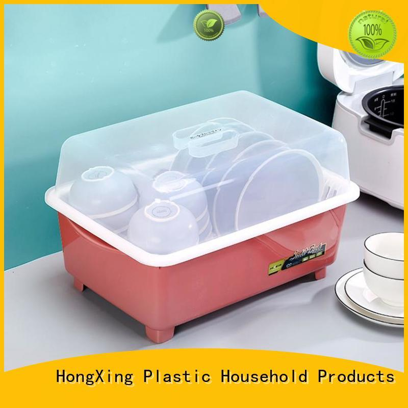 HongXing plastic plastic dish drying rack from China to store dishes