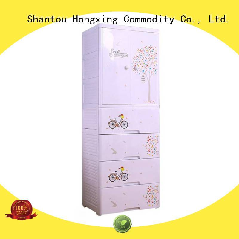 HongXing Cute baby clothes storage China supplier for room