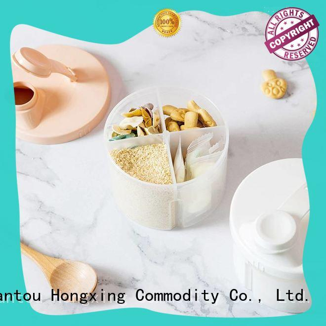 safe baby milk powder dispenser container milk with good price for student