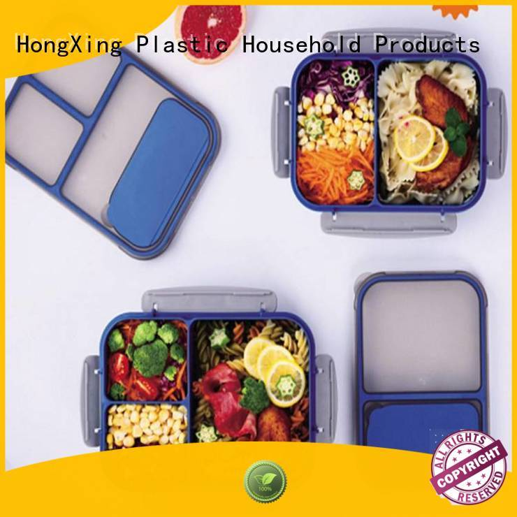 HongXing stable performance plastic lunch box reliable quality for candy