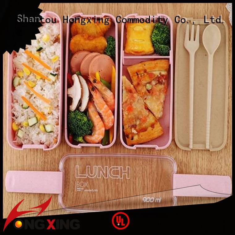 HongXing good design eco friendly lunch box stable performance for noodle