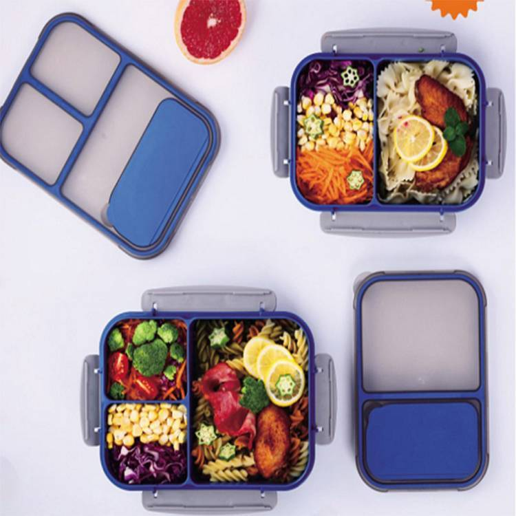 1800 ML Eco Friendly Lunch Boxes with Leak Proof Dividers