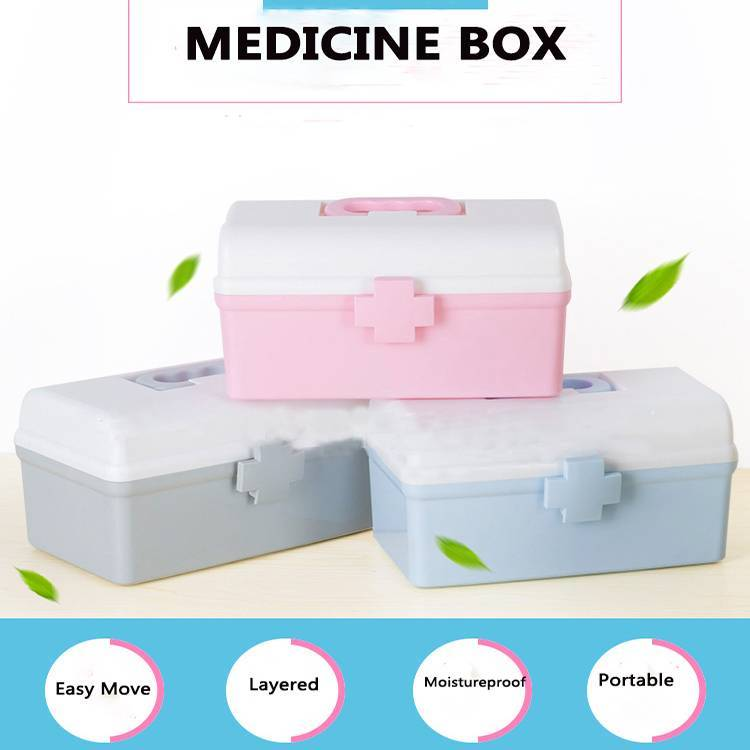 High Capacity Plastic Medical Box has Three Sizes  Storage Box