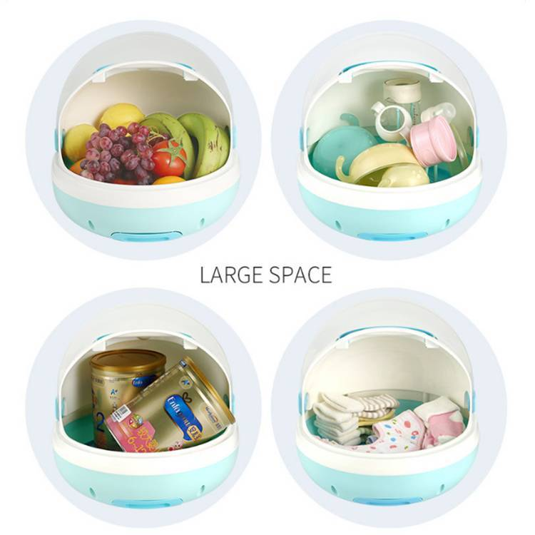 Baby bottle storage box