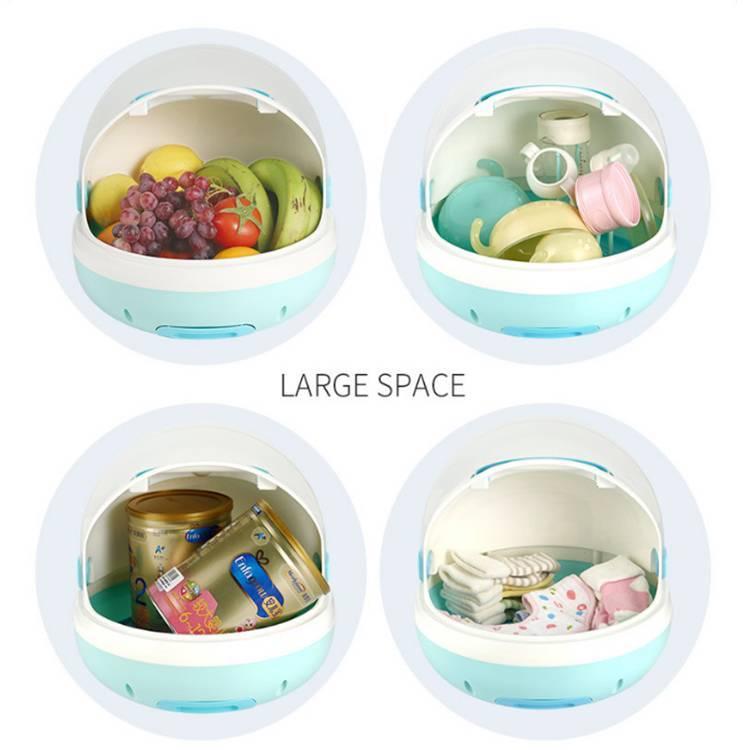 Baby bottle storage box