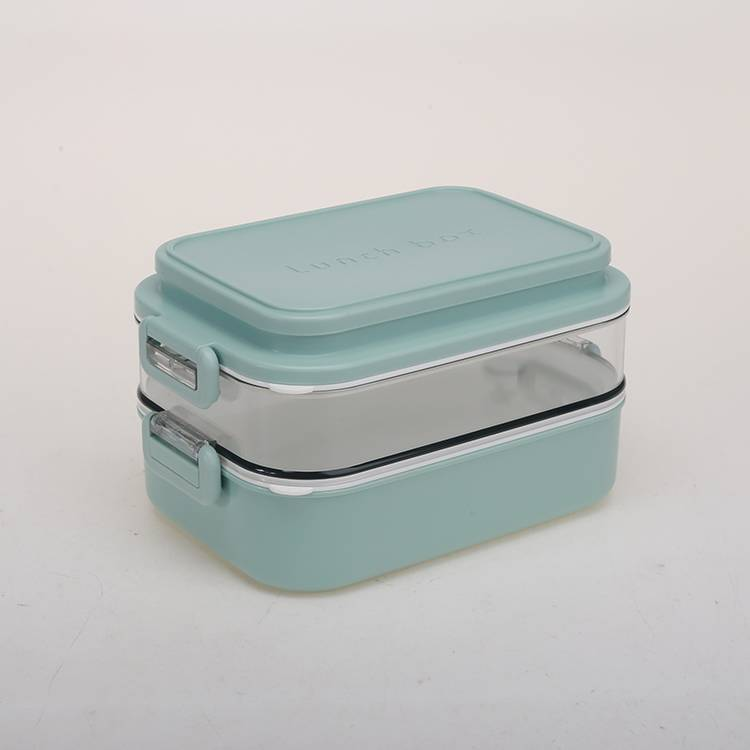 Single Layer Double Layers Plastic Stainless Steel Lunch Box