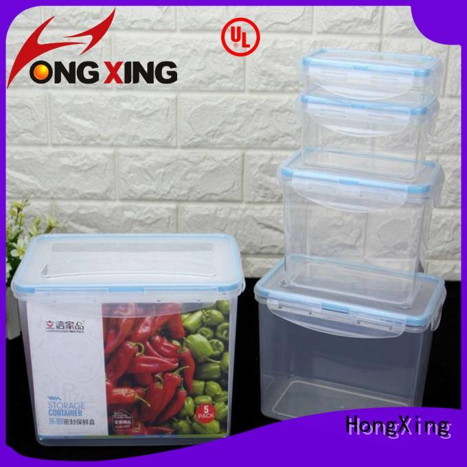 HongXing 100% leak-proof airtight food storage from China for snack