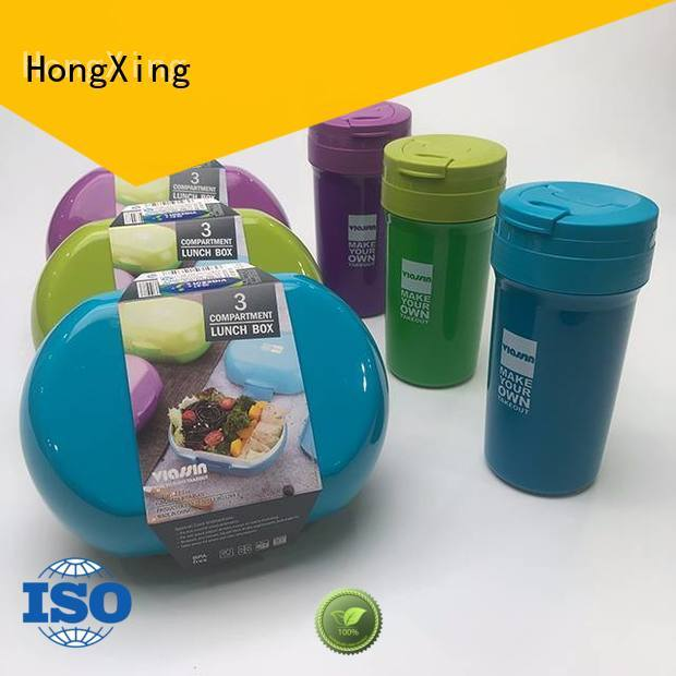 HongXing Microwave Safe bento style lunches for adults great practicality for salad