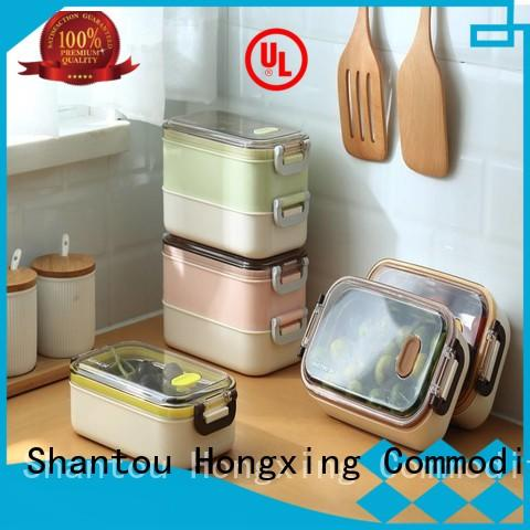 material microwavable lunch box adults great practicality for salad HongXing