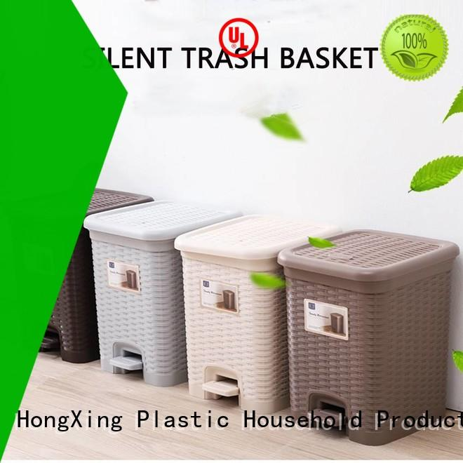 stable performance plastic garbage bin can free design for room