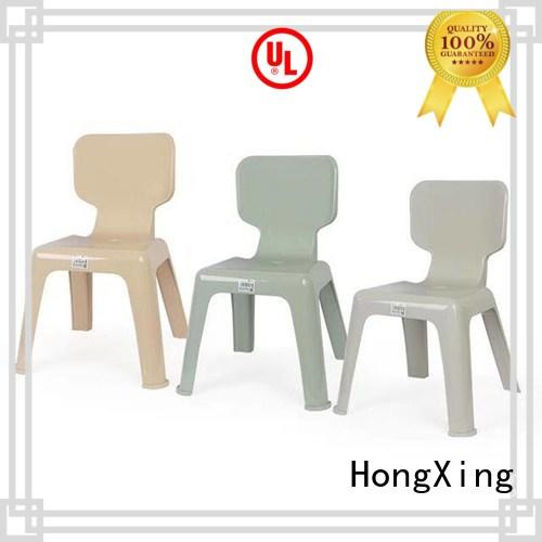 HongXing backrest toddler table and chairs stable performance
